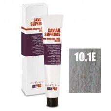 """10.1E """"KAYPRO Caviar Supreme"""" kreminiai dažai be amonioko itin platininė, šviesi pelenų sp.,100 ml."""