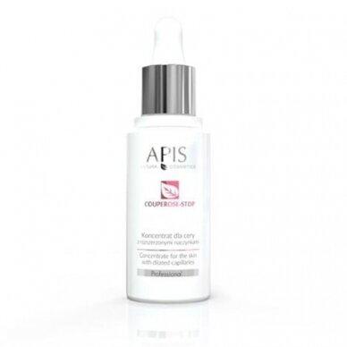 APIS COUPEROSE STOP serumas su vitaminais kapiliarinei odai, 30ml