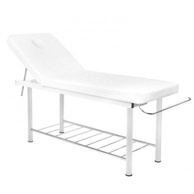 Masažo stalas-lova AM 812, baltos sp