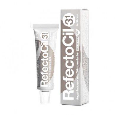 Refectocil henna gelio dažai 3.1 šviesi ruda sp., 15ml 2