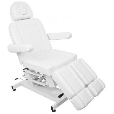 Kosmetologinis elektrinis krėslas AZURRO 706 PEDI, baltos sp. 11