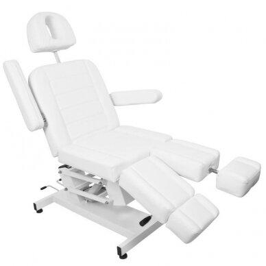 Kosmetologinis elektrinis krėslas AZURRO 706 PEDI, baltos sp. 10