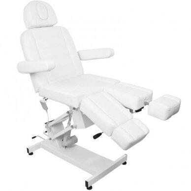 Kosmetologinis elektrinis krėslas AZURRO 706 PEDI, baltos sp. 9