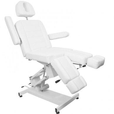 Kosmetologinis elektrinis krėslas AZURRO 706 PEDI, baltos sp. 6