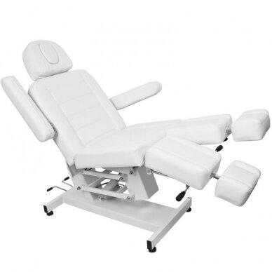 Kosmetologinis elektrinis krėslas AZURRO 706 PEDI, baltos sp. 2
