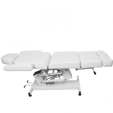 Kosmetologinis elektrinis krėslas AZURRO 706 PEDI, baltos sp. 3