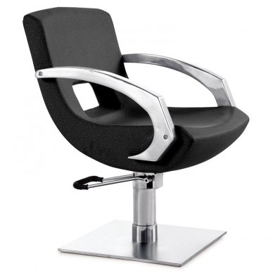 Kirpyklos kėdė GABBIANO Q-3111, juodos sp.