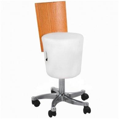 Kėdė AZZURO, baltos sp.