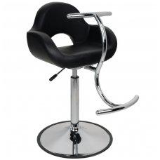 Vaikiška kirpyklos kėdutė, GABBIANO, juodos spalvos