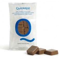 Vaškas depiliacijai Quickepil, šokolado, 1 KG