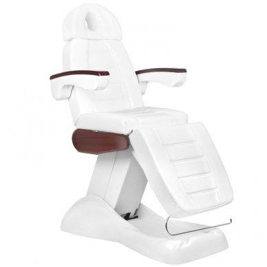 Elektrinis kosmetologinis krėslas LUX, baltos sp.