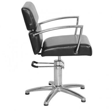 Kirpyklos kėdė GABBIANO juodos sp. 2