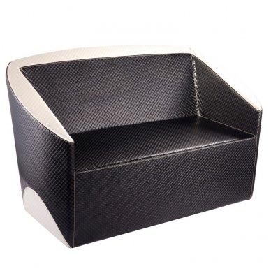 Laukiamojo sofa GABBIANO PARIS juoda-smėlio sp.