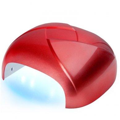 Lempa UV DUAL LED 36W TWISTER, raudonos sp.