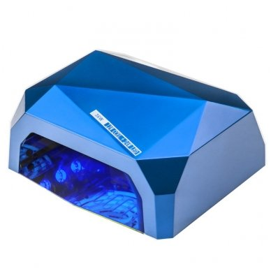 Lempa nagams DIAMOND 2 in 1 UV LED+CCFL 36W, mėlynos sp.
