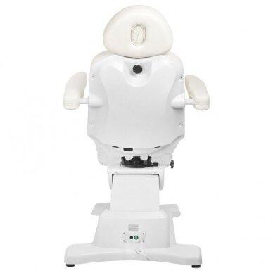 Kosmetologinis elektrinis krėslas AZZURRO 870 3 varikliai, baltos sp. 13