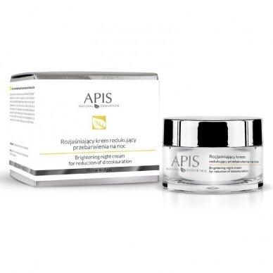 APIS skaistinatisžįviesinantis, raminantis paraudimus kremas nakčiai, 50ml
