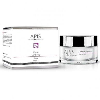 APIS vitaminų kremas su slyvomis sausai - normaliai odai, 50ml