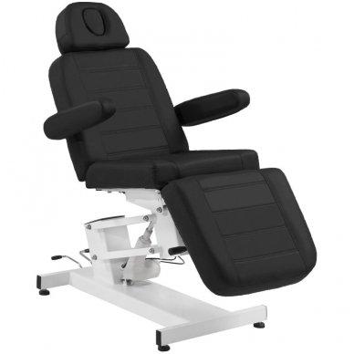 Kosmetologinis elektrinis krėslas-lova AZZURRO 705, juodos sp.
