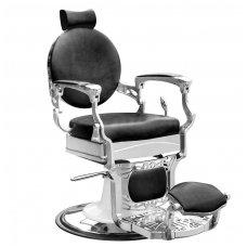 Barber krėslas PRESIDENT, juodos sp.