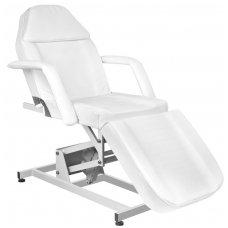 Kosmetologinis elektrinis krėslas AZZURRO 673A, baltos sp.