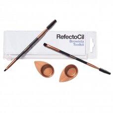 Refectocil Browista Toolkit įrankiai antakiams ir blakstienoms dažyti