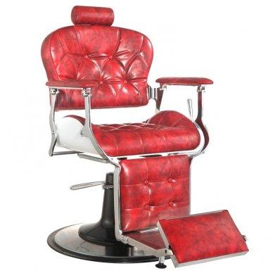 Barber krėslas PREMIER, raudonos sp.