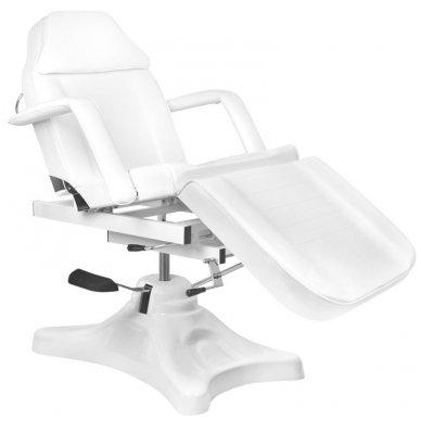 Kosmetologinis krėslas A234D, baltos sp.