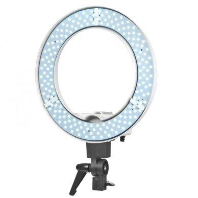 """LED žiedinė vizažo lempa RING LIGHT 12"""" 35W, su stovu 9"""