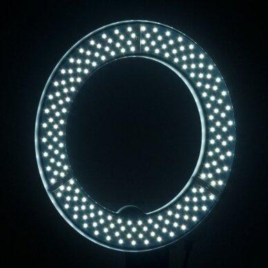 """LED žiedinė vizažo lempa RING LIGHT 12"""" 35W, su stovu 10"""