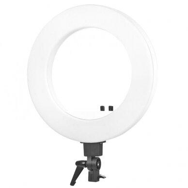 """LED žiedinė vizažo lempa RING LIGHT 18"""" 48W, su stovu 2"""