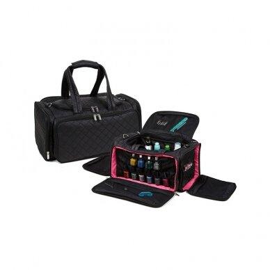 Kosmetinis krepšys SAB004 juodos sp.