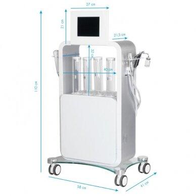 Vandens dermabrazijos aparatas (daugiafunkcinis) YOSHIDA 5 in 1 H5020 8