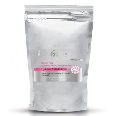 Bielenda alginato dumblių, gelio kaukė Vyšnių žiedai (minkšta pakuotė), 200g