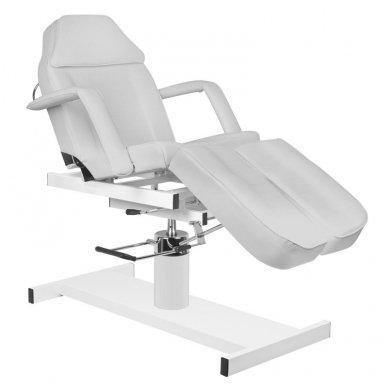 Hidraulinis pedikiūro ir kosmetologijos krėslas A 210C PEDI, pilkos sp. 2
