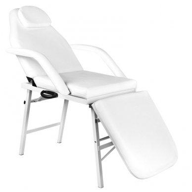 Sulankstoma kosmetologinė lova - gultas A270, baltos sp.