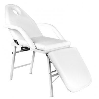 Sulankstoma kosmetologinė lova - gultas A270, baltos sp. 2