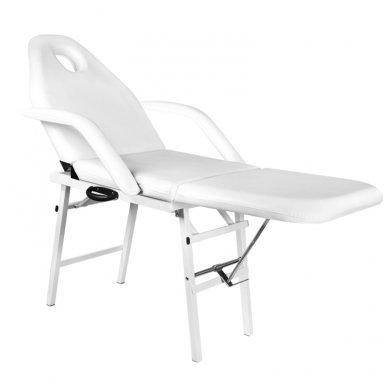 Sulankstoma kosmetologinė lova - gultas A270, baltos sp. 3