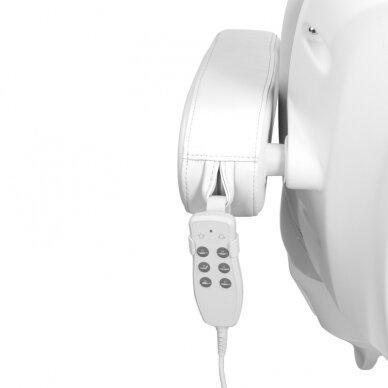 Elektrinis kosmetologinis krėslas AZZURRO 875B, baltos sp. 11