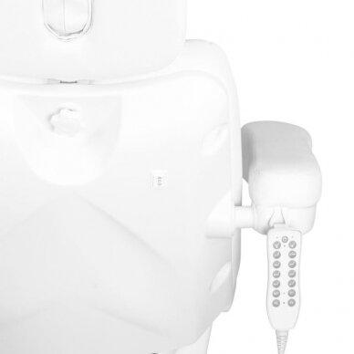 Kosmetologinis krėslas AZZURRO 878 5 varikliai, baltos sp. 12