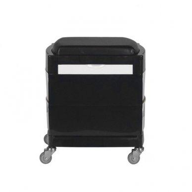 GABBIANO vežimėlis - taboretė, 16-1 BLACK/WHITE 2