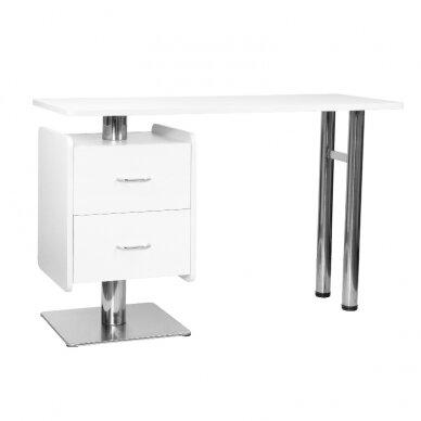 Manikiūro stalas 6543, baltos sp.