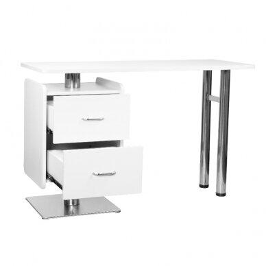 Manikiūro stalas 6543, baltos sp.  2