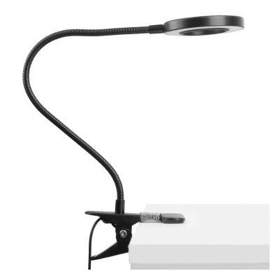 LED lempa RING SNAKE, 3-5W, juodos sp. 2