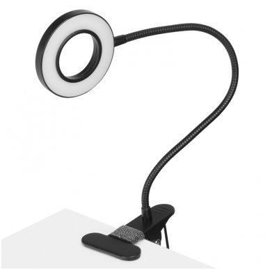 LED lempa RING SNAKE, 3-5W, juodos sp.