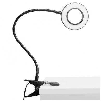 LED lempa RING SNAKE, 3-5W, juodos sp. 4