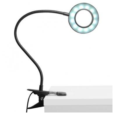 LED lempa RING SNAKE, 3-5W, juodos sp. 6