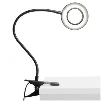 LED lempa RING SNAKE, 3-5W, juodos sp. 8