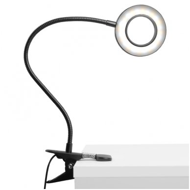 LED lempa RING SNAKE, 3-5W, juodos sp. 7