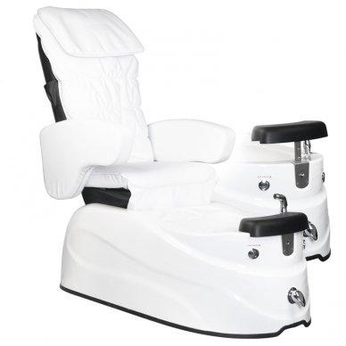 Pedikiūro krėslas PEDICURE SPA AS-122, su masažo funkcija, baltos sp. 2